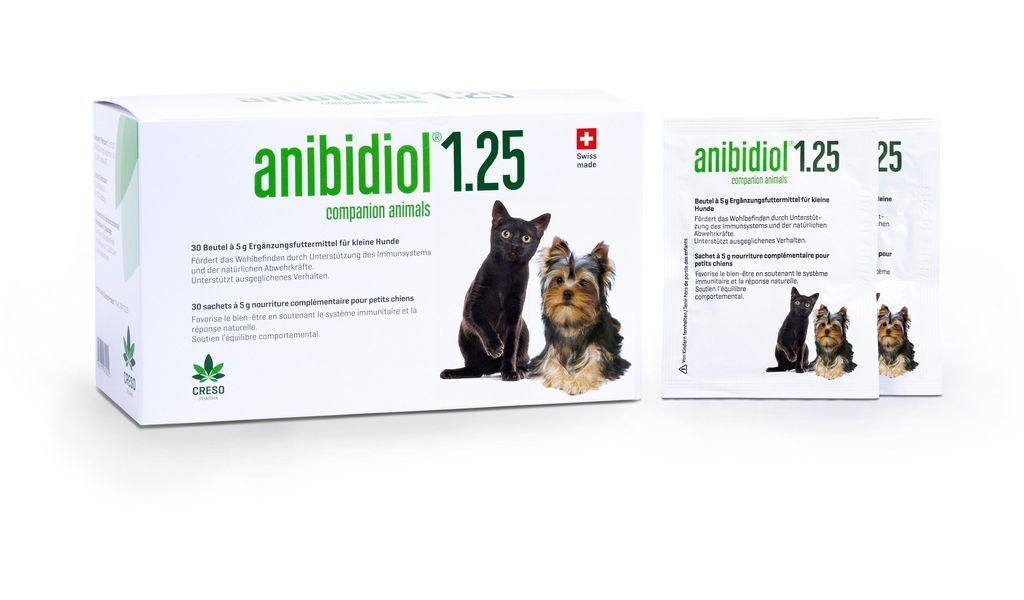 anibidiol® 1.25 for small dogs and cats