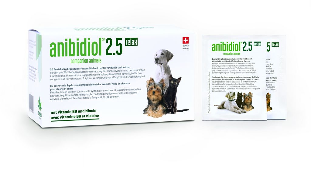 anibidiol® 2.5 relax pour chats et chiens